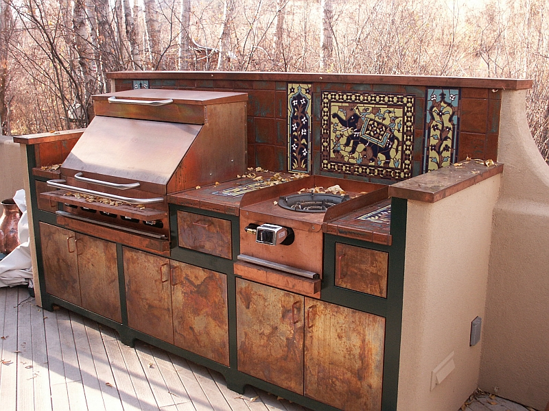 Outdoor grill cabinets for Outdoor grill cabinet design